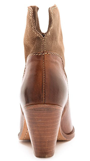 Hudson London Brock Western Booties