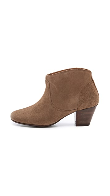 Hudson London Mirar Suede Booties