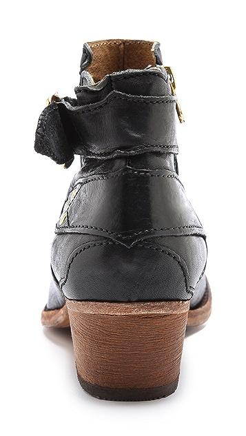 Hudson London Bora Studded Booties