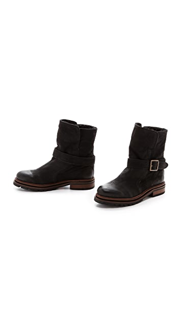 Hudson London Tatham Lug Sole Booties