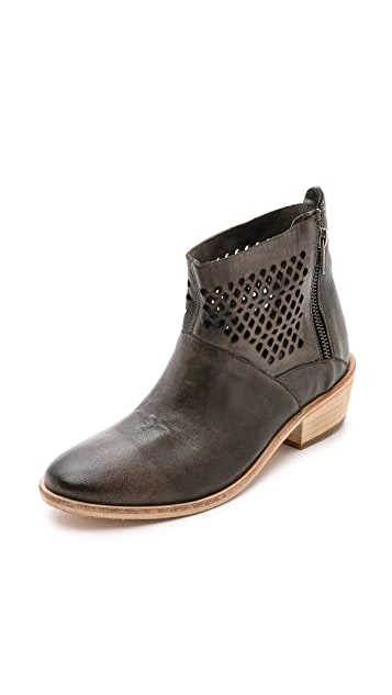 Hudson London Rift Perforated Booties