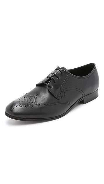 Hudson London Mansfield Wingtip Shoes
