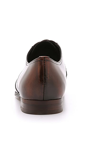 Hudson London Mansfield High Shine Wingtip Shoes