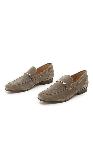 Hudson London Navarre Suede Bit Loafers