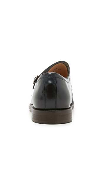 Hudson London Baldwin Double Monk Strap Shoes