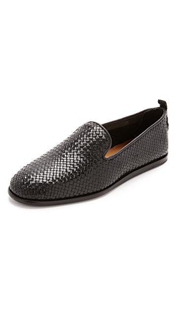 Hudson London Ipanema Woven Slippers
