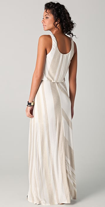 Heather Cinch Maxi Tank Dress