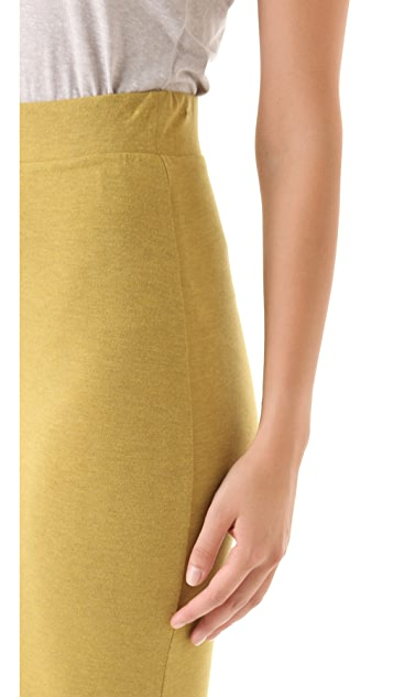 Heather Asymmetrical Drape Skirt