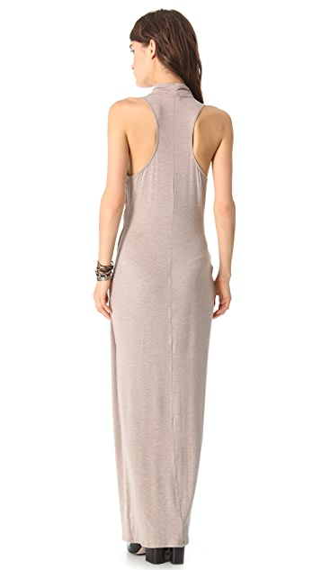 Heather Cowl Maxi Dress