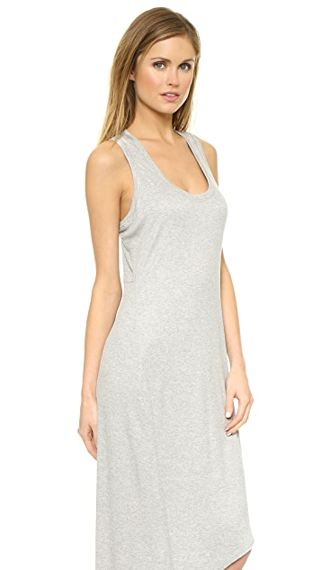 Heather Asymmetrical Racer Back Dress