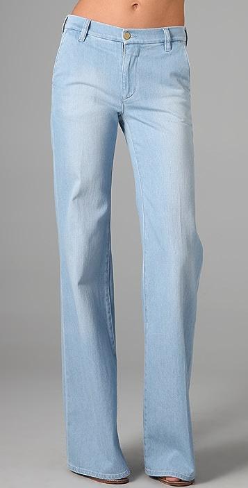 M.i.h Jeans Loon Bleach Wide Leg Jeans