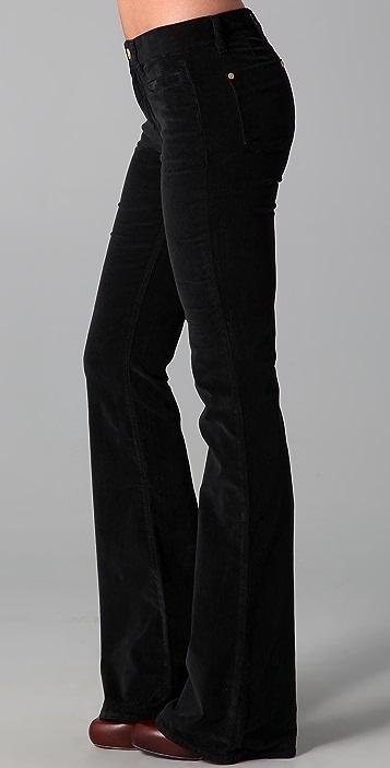 M.i.h Jeans Marrakesh Velvet Kick Flare Pants