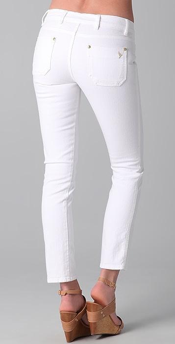 M.i.h Jeans Paris Cropped Slim Leg Jeans