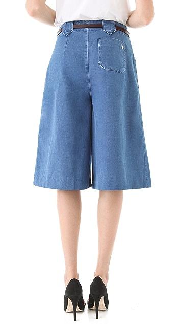 M.i.h Jeans Taos Wide Leg Culottes