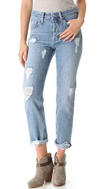 M.i.h Jeans Halsy Vintage Straight Jeans