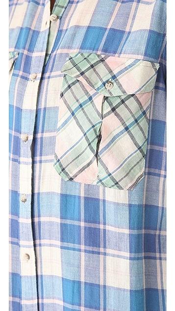 M.i.h Jeans Oversized Patch Pocket Shirt