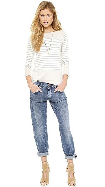 M.i.h Jeans The Breton Saddle Top