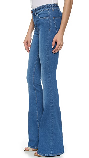 M.i.h Jeans The '70s Body Con Flare Jeans