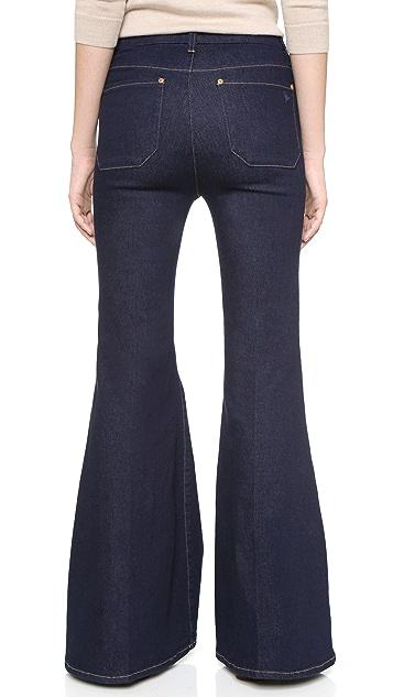 M.i.h Jeans The Principle Petite Super Flare Jeans