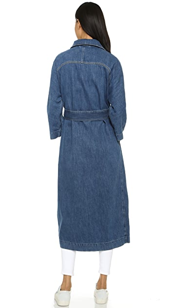M.i.h Jeans Raglan Denim Coat