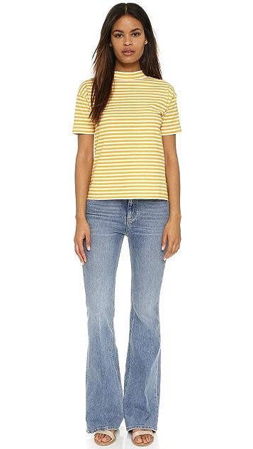 M.i.h Jeans Short Sleeve Retro Top