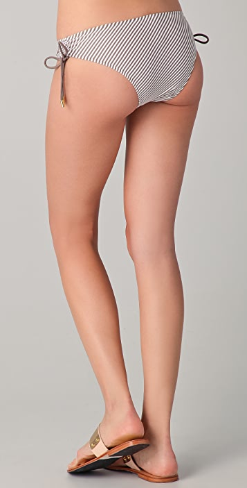 Heidi Klein Byron Bay Ruched Bikini Bottoms