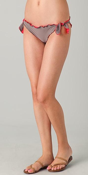 Heidi Klein Seville Reversible Frill Tie Side Bottoms