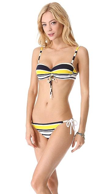 Heidi Klein Willow Bay Bandeau Bikini Top