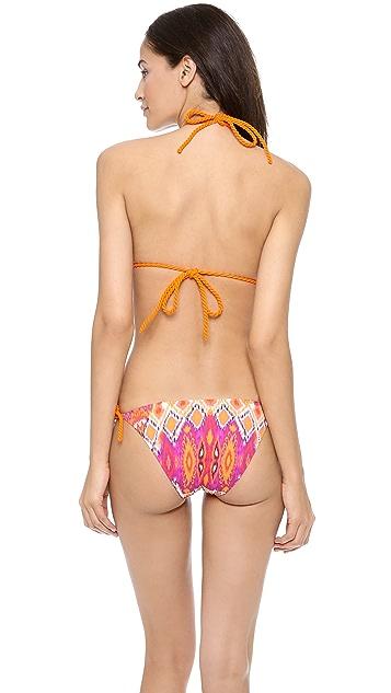 Heidi Klein Rio de Janeiro Triangle Bikini Top
