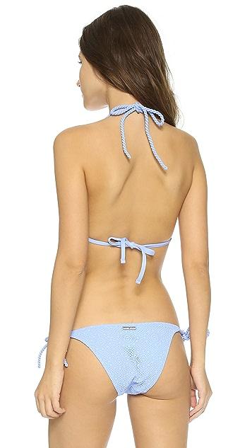 Heidi Klein Lavandou Rope Triangle Bikini Top