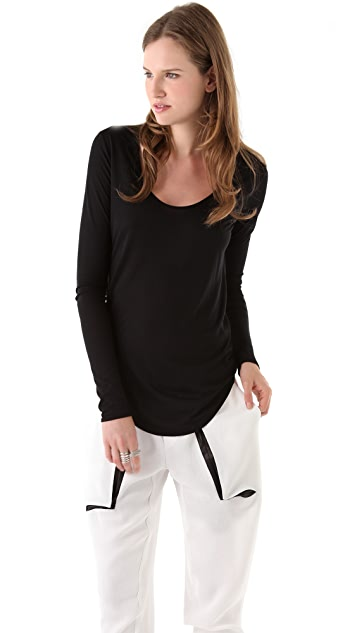 HELMUT Helmut Lang Kinetic Long Sleeve Tee