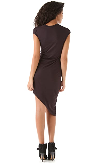 HELMUT Helmut Lang Angle Hem Dress