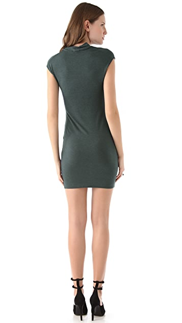 HELMUT Helmut Lang Nova Cowl Neck Dress