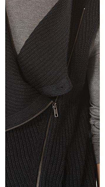 HELMUT Helmut Lang Wool Luxe Shell Vest