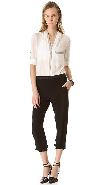 HELMUT Helmut Lang Flash Drape Pants