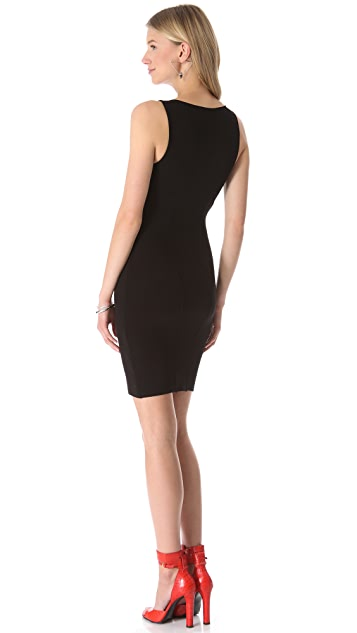 HELMUT Helmut Lang Gala Knit Aline Dress