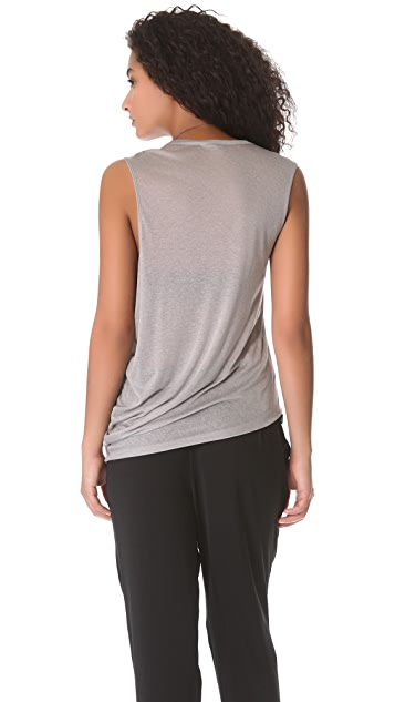 HELMUT Helmut Lang Polished Shell Top