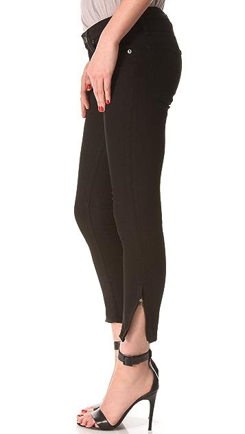 HELMUT Helmut Lang Black Cropped Skinny Jeans