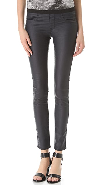 HELMUT Helmut Lang Sea Wash Coated Legging Jeans