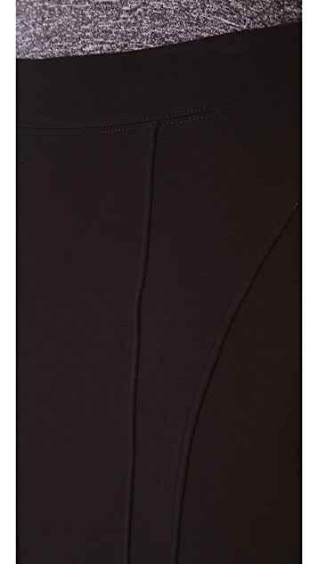 HELMUT Helmut Lang Gala Knit Miniskirt