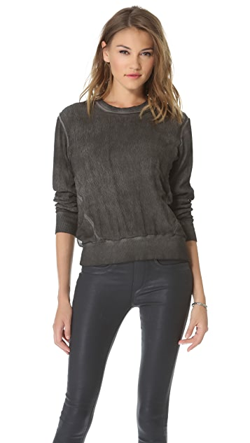 HELMUT Helmut Lang Sweatshirt with Rib