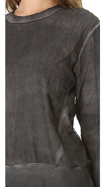 HELMUT Helmut Lang Sweatshirt with Rib