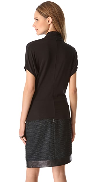 HELMUT Helmut Lang Wide Sleeve Top