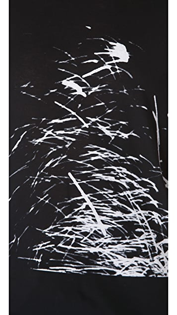 HELMUT Helmut Lang Spark Print Muscle Tee