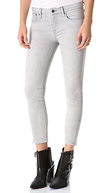 HELMUT Helmut Lang Cropped Skinny Jeans