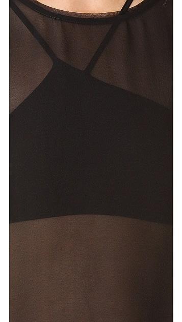 HELMUT Helmut Lang Ghost Silk Tank