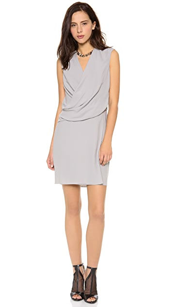 HELMUT Helmut Lang Nexa Overlap Dress
