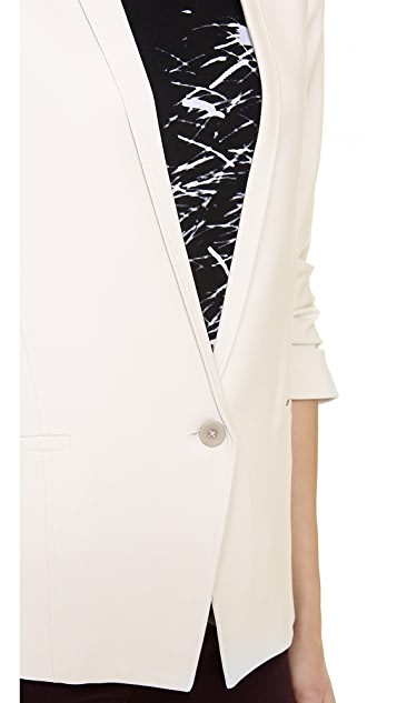 HELMUT Helmut Lang Prime Scrunched Sleeve Blazer