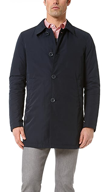 Herno Hybrid Down Trench Coat