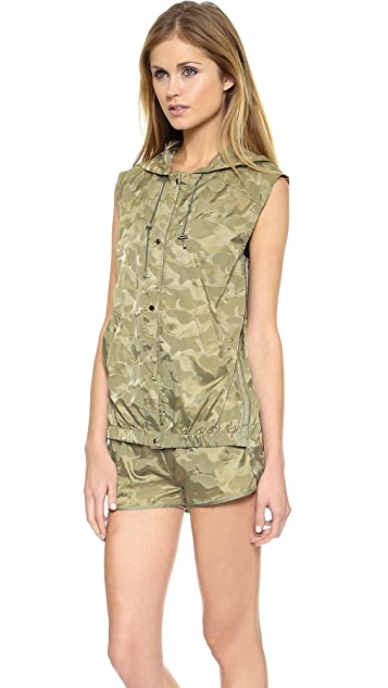 Heroine Sport Windbreaker Hooded Vest